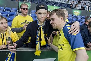 Br�ndbyfan med Simon Tibbling (Br�ndby IF)