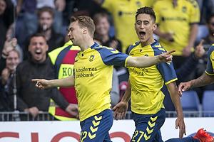Simon Tibbling, m�lscorer (Br�ndby IF), Svenn Crone (Br�ndby IF)