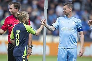 Kasper Fisker (Br�ndby IF), Mads Agesen, anf�rer (Randers FC)