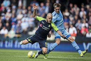 Teemu Pukki (Br�ndby IF), Kasper Enghardt (Randers FC)