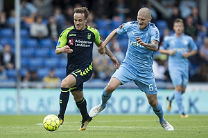 Lasse Vigen Christensen (Br�ndby IF), Joni Kauko (Randers FC)