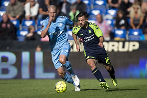 Besar Halimi (Br�ndby IF), Uidentificeret person (Randers FC)