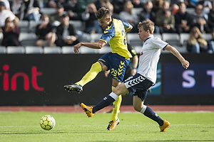 Jan Kliment (Br�ndby IF), Jesper Juelsg�rd (Agf)