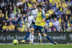 Christian N�rgaard (Br�ndby IF), Uidentificeret person (AC Horsens)