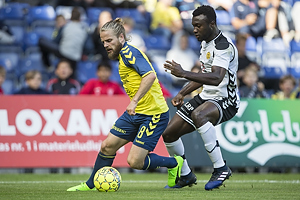 Kasper Fisker (Br�ndby IF), Uidentificeret person (AC Horsens)