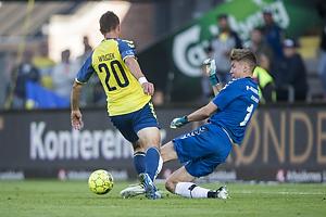 Kamil Wilczek (Br�ndby IF), Jesse Joronen (AC Horsens)