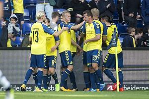 Kamil Wilczek (Br�ndby IF), Hj�rtur Hermannsson (Br�ndby IF), Johan Larsson (Br�ndby IF)