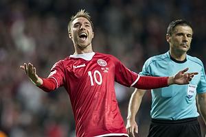 Christian Eriksen, m�lscorer (Danmark)