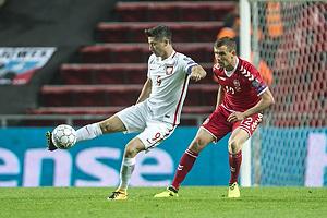 Robert Lewandowski (Polen), Andreas Bjelland (Danmark)