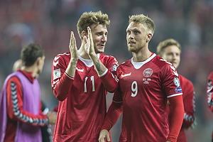 Nicklas Bendtner (Danmark), Nicolai J�rgensen (Danmark)