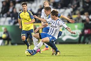 Lasse Vigen Christensen (Br�ndby IF), Ryan Laursen (Ob)