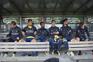 Simon Tibbling (Br�ndby IF), Kamil Wilczek (Br�ndby IF), Kevin Mensah (Br�ndby IF), Lasse Vigen Christensen (Br�ndby IF), Anthony Jung (Br�ndby IF), Mads Juel Andersen (Br�ndby IF)