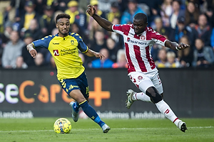 Hany Mukhtar (Br�ndby IF), Jores Okore (Aab)