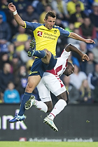 Kamil Wilczek (Br�ndby IF), Jores Okore (Aab)