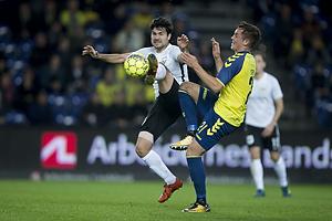 Uidentificeret person (Led�je-Sm�rum Fodbold), Lasse Vigen Christensen (Br�ndby IF)