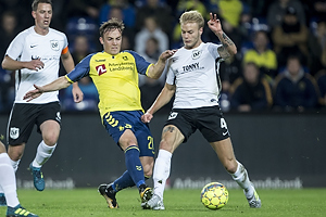 Lasse Vigen Christensen (Br�ndby IF), Kasper Gram-Jensen (Led�je-Sm�rum Fodbold)