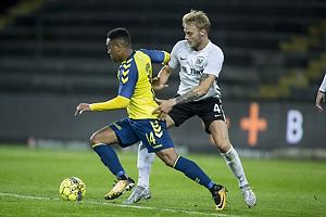 Kevin Mensah (Br�ndby IF), Kasper Gram-Jensen (Led�je-Sm�rum Fodbold)