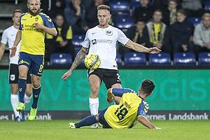 Dennis Lind J�rgensen (Led�je-Sm�rum Fodbold), Besar Halimi (Br�ndby IF)