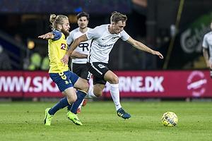 Kasper Fisker (Br�ndby IF), Emil Kj�rsgaard (Led�je-Sm�rum Fodbold)