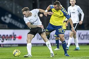 Dennis Lind J�rgensen (Led�je-Sm�rum Fodbold), Kamil Wilczek (Br�ndby IF)