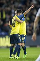 Besar Halimi, m�lscorer (Br�ndby IF), Kasper Fisker (Br�ndby IF)
