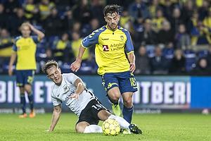 Emil Kj�rsgaard (Led�je-Sm�rum Fodbold), Besar Halimi (Br�ndby IF)