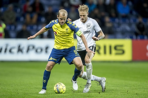 Teemu Pukki, m�lscorer (Br�ndby IF), Kasper Gram-Jensen (Led�je-Sm�rum Fodbold)