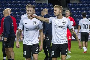 Dennis Lind J�rgensen (Led�je-Sm�rum Fodbold), Kasper Gram-Jensen (Led�je-Sm�rum Fodbold)