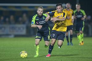 Hj�rtur Hermannsson (Br�ndby IF), Vito Hammersh�j-Mistrati (Hobro IK)