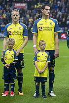 Hj�rtur Hermannsson (Br�ndby IF), Benedikt R�cker (Br�ndby IF)