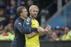 Simon Tibbling (Br�ndby IF), Johan Larsson (Br�ndby IF)