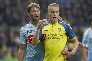 Christian Jakobsen (S�nderjyskE), Hj�rtur Hermannsson (Br�ndby IF)