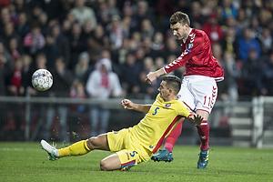 Nicklas Bendtner (Danmark), Ovidiu Hoban (Rum�nien)