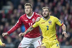 Nicklas Bendtner (Danmark), Mihai Balasa (Rum�nien)