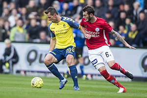 Kamil Wilczek (Br�ndby IF), Jens Martin Gammelby (Silkeborg IF)