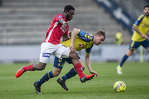 Simon Tibbling (Br�ndby IF), Uidentificeret person (Silkeborg IF)