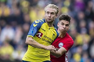 Johan Larsson (Br�ndby IF), Gregor Sikosek (Silkeborg IF)