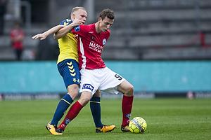 Gustaf Nilsson (Silkeborg IF), Hj�rtur Hermannsson (Br�ndby IF)