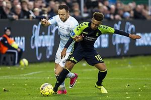 Patrick Olsen (FC Helsing�r), Hany Mukhtar (Br�ndby IF)