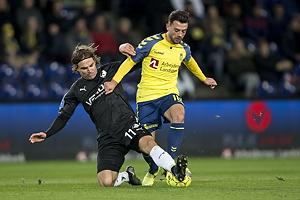 Besar Halimi (Br�ndby IF), Erik Marxen (Randers FC)