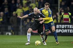 Johnny Thomsen (Randers FC), Lasse Vigen Christensen (Br�ndby IF)