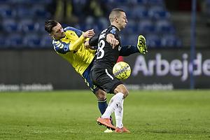 Besar Halimi (Br�ndby IF), Nikola Djurdjic (Randers FC)