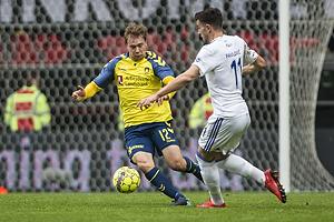 Simon Tibbling (Br�ndby IF), Andrija Pavlovic (FC K�benhavn)