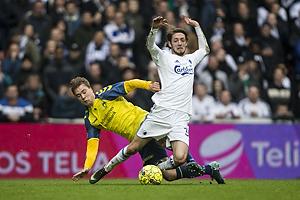 Simon Tibbling (Br�ndby IF), Rasmus Falk (FC K�benhavn)
