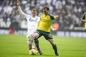 Kasper Kusk (FC K�benhavn), Simon Tibbling (Br�ndby IF)