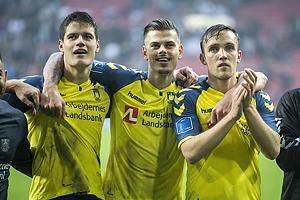 Christian N�rgaard (Br�ndby IF), Jan Kliment (Br�ndby IF), Lasse Vigen Christensen (Br�ndby IF)