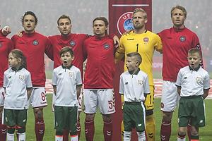 Thomas Delaney (Danmark), Christian Eriksen (Danmark), Peter Ankersen (Danmark), Kasper Schmeichel (Danmark), Simon Kj�r (Danmark)