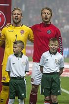 Kasper Schmeichel (Danmark), Simon Kj�r (Danmark)
