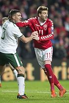 Nicklas Bendtner (Danmark), Ciaran Clark (Irland)