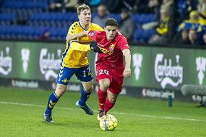 Simon Tibbling (Br�ndby IF), Patrick da Silva (FC Nordsj�lland)